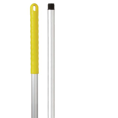 Robert Scott & Sons Abbey Hygiene Mop Handle Aluminium Colour-coded Screw 125cm Yellow Ref AH49Y