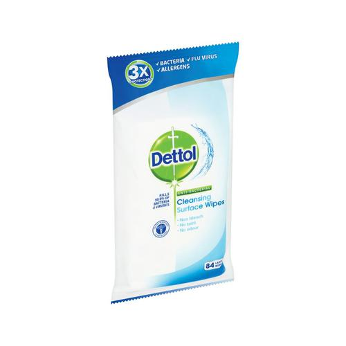 Dettol Antibacterial Surface Cleaning Wipes Ref RB789643 [72 Wipes] - 137746