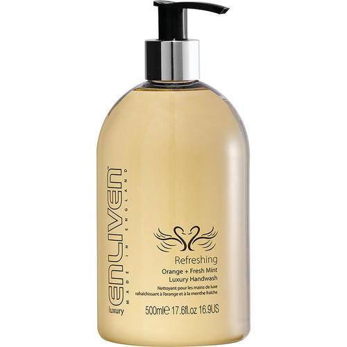Enliven Luxury Handwash Refreshing Orange & Fresh Mint 500ml Ref 502329
