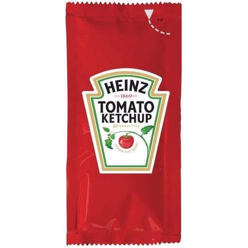 Heinz Tomato Ketchup Sachets Single Portion 10g Ref 76600338 [Pack 200]