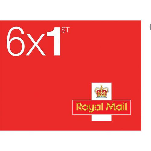Royal Mail First Class Stamps [50 x Book of 6]