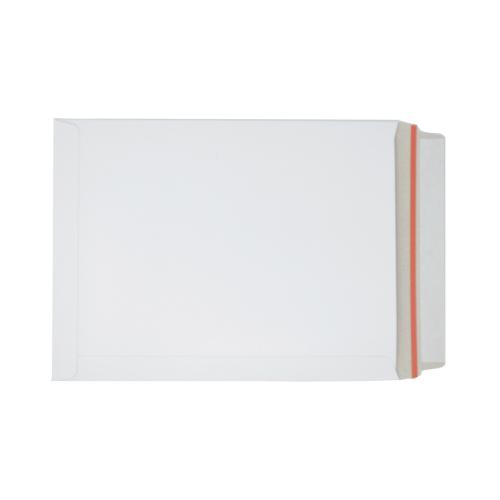 White Board Envelopes Peel & Seal C4+ 330x248mm White Ref AB10346 [Pack 100]