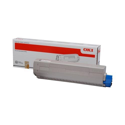 OKI-MC853/873 Laser Toner Cartridge Page Life 7000pp Black Ref 45862840