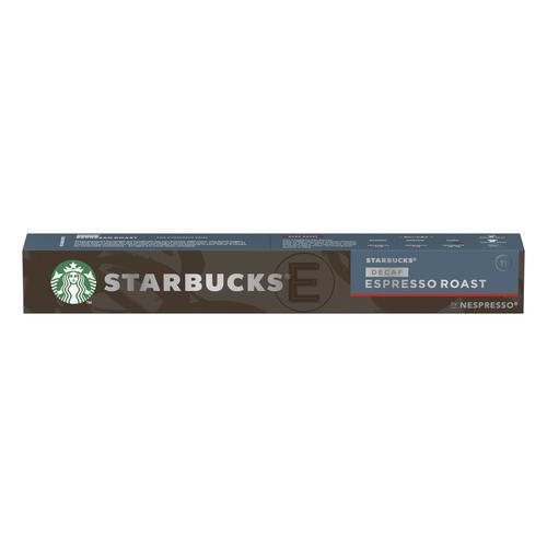Starbucks by Nespresso Decaf Espresso 10x12x57g 120 Pods Ref 12423420