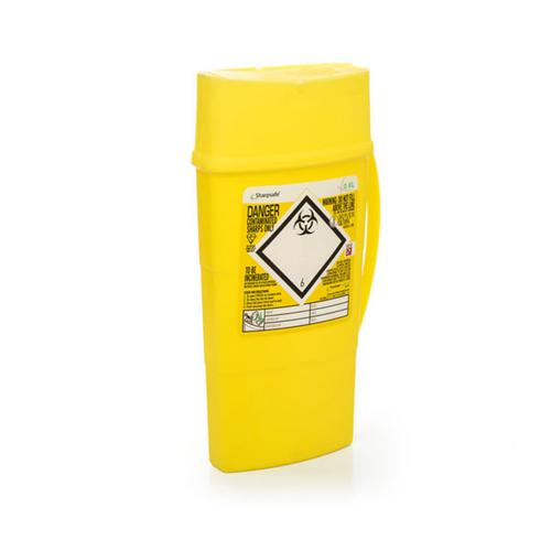 Click Medical Sharps Bin 0.6Ltr Ref CM0642 *Up to 3 Day Leadtime*