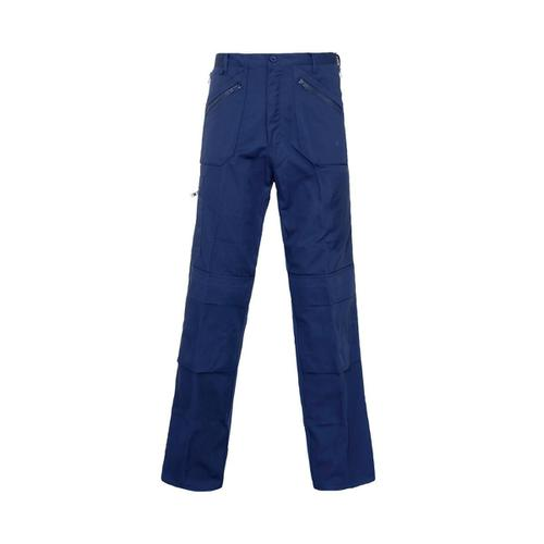 ST Action Trousers Poly Cotton Multiple Zipped Pockets Tall 34inch Navy Ref 18GN4 *Approx 3 Day Leadtime*