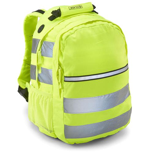 B-Seen Hi-Vis Rucksack 25 ltr Yellow Ref CHVRSY *Up to 3 Day Leadtime*