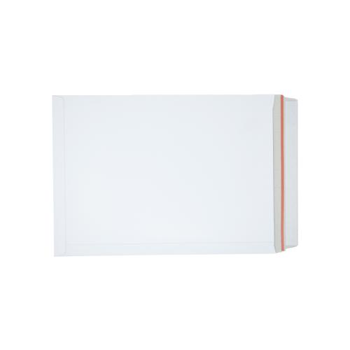 White Board Envelopes Peel & Seal C3+ 457x330mm White Ref AB10347 [Pack 100]
