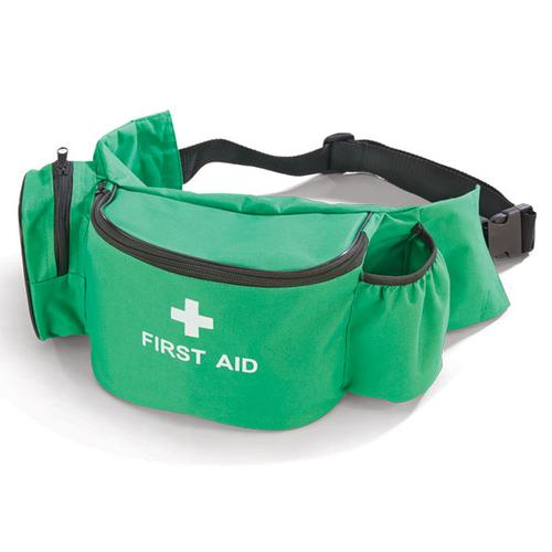 Click Medical Bum Bag with Extra Pocket Small Green Ref CM1101 *Up to 3 Day Leadtime*
