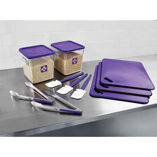 Rubbermaid Food Service Kit 12 Piece Colour-coded Purple