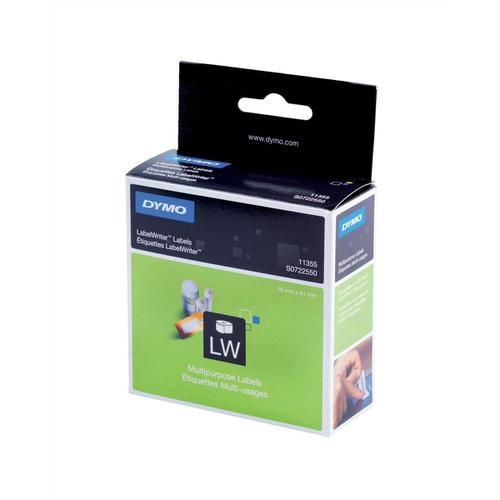Dymo LabelWriter Labels Multipurpose White Ref 11355 S0722550 [Pack 500]
