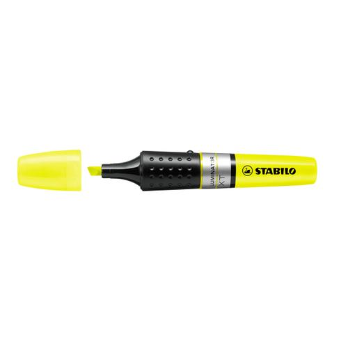 Stabilo Luminator Highlighters Chisel Tip 2-5mm Wallet Yellow Ref 71/24 [Pack 5]