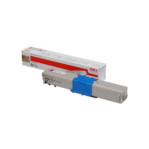 Oki C532/MC573 Laser Toner Cartridge Page Life 1500pp Magenta Ref 46490402