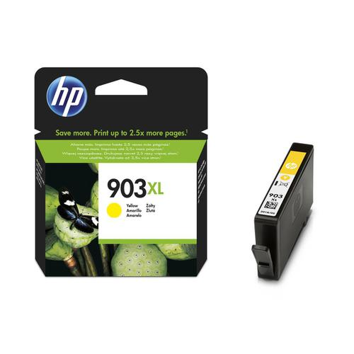 Hewlett Packard [HP] No.903XL Ink Cartridge Page Life High Yield 825pp 9.5ml Yellow Ref T6M11AE