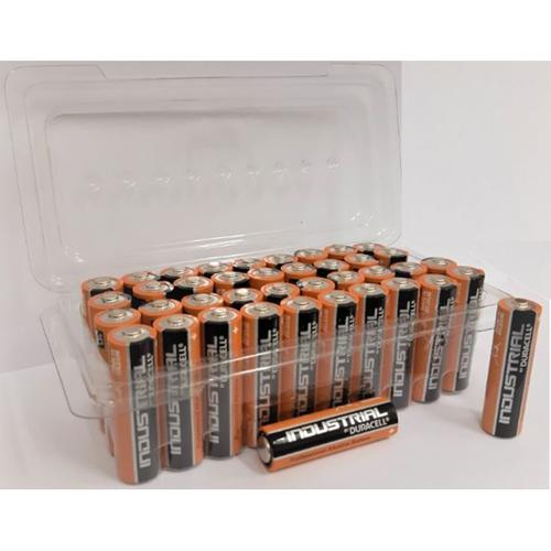 Duracell Batteries Industrial AAA Tub Ref AAADURINDB40T [Pack 40]