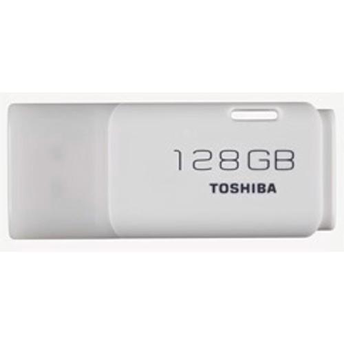 Toshiba TransMemory Flash Drive USB 2.0 128GB White Ref THN-U202W1280E4
