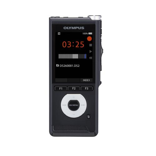 Olympus DS-2600 Digital Voice Recorder With Slide Switch Black Ref V741030BE000