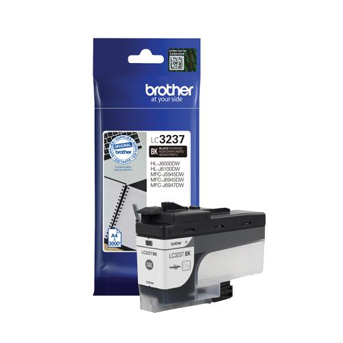Brother LC3237BK Ink Cartridge Page Life 3000pp Black Ref LC3237BK