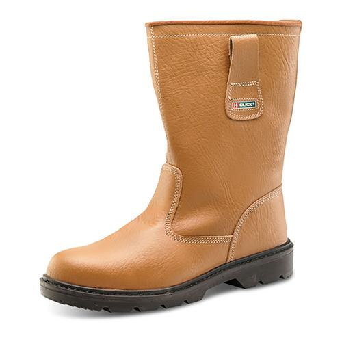 Rigger Boot Plus Leather with Rubber Toecap Size 11 Tan *Approx 3 Day Leadtime*