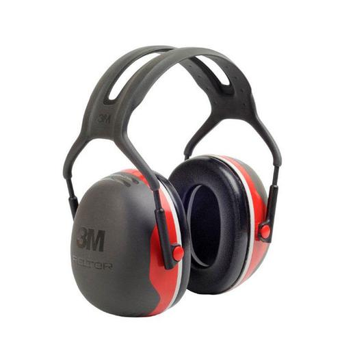 Peltor X3 Headband Ear Defenders 28dB Red Ref X3A *Up to 3 Day Leadtime*