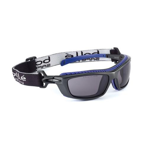 Bolle Baxter Platinum Safety Glasses Smoke Ref BOBAXPSF *Up to 3 Day Leadtime*
