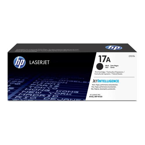 HP 17A Toner Cartridge Page Life 1600pp Black Ref CF217A