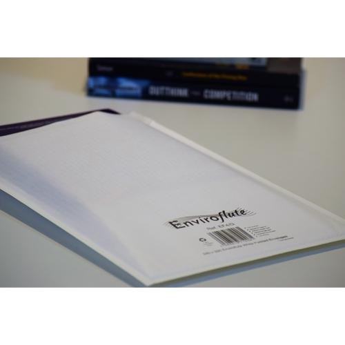 Enviroflute Paper Mailing Bag 240x330mm White [Pack 100] Ref EF4/G