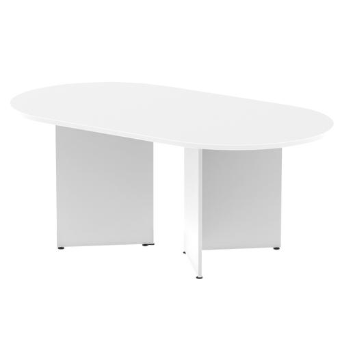 Trexus Boardroom Table 1800x1200x730mm Arrowhead White Ref MI002944