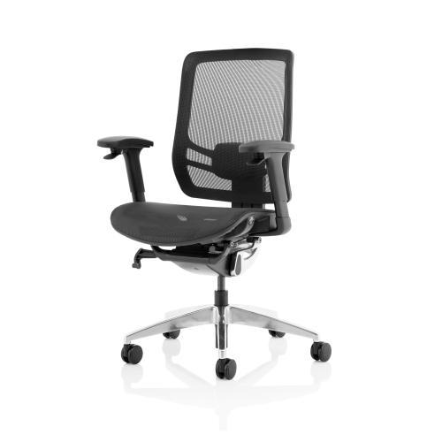 Trexus Ergo Click Mesh Seat Mesh Back Black Ref OP000251