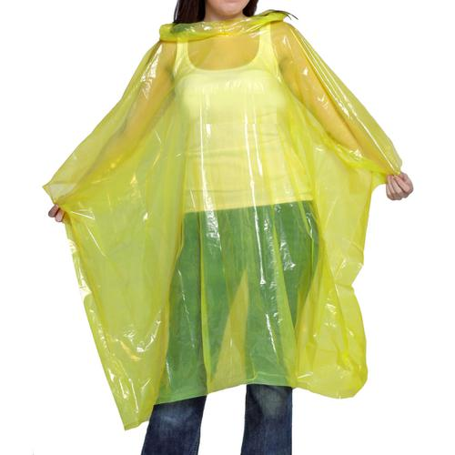 Waterproof Rain Poncho - Colours may vary - Ref WRPY [Pack 10] *Up to 3 Day Leadtime*