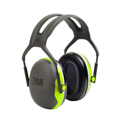 Peltor X4 Headband Ear Defenders 27dB Green Ref X4A *Up to 3 Day Leadtime*