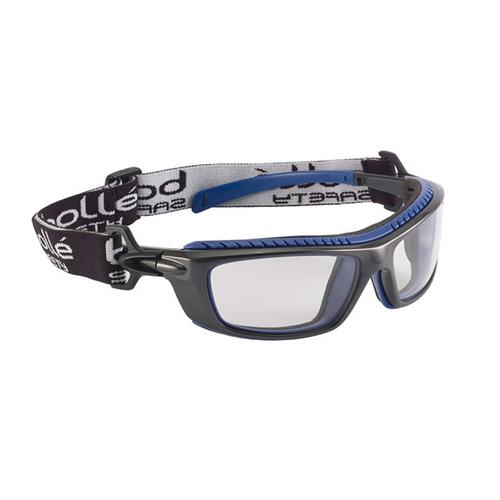 Bolle Baxter Platinum Safety Glasses Clear Ref BOBAXPSI *Up to 3 Day Leadtime*