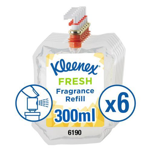 Kleenex Botanics Botanics Aircare Fresh Refill 300ml Ref 6190 [Pack 6]