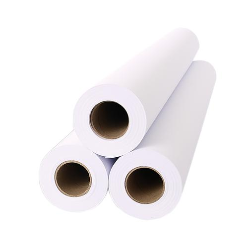 Inkjet Plotter Roll 610mm x 50m 80gsm White Ref 2654C [Pack 6]
