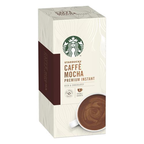 Starbucks Mocha Sachets 6 Boxes Each with 5 x 110g Sachets Ref 12431758