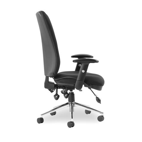 5 Star Elite Support Chiro High Back Chair Black 510x480-540x500-600mm Ref OP000006 by OTGroup, 146360