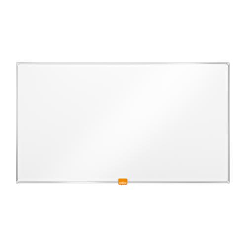 Nobo Whiteboard Widescreen 32 Inch Nano Clean Magnetic W710xH400 White Ref 1905296