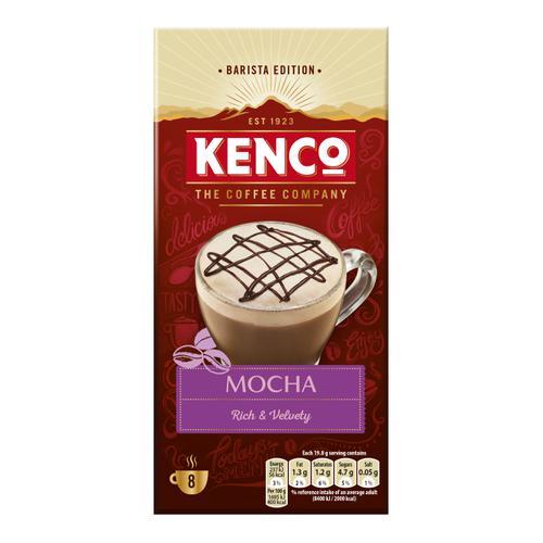 Kenco Mocha Instant Sachet Ref 4041494 [Pack 8 x 5 Boxes]