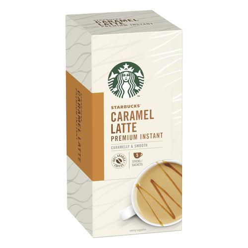 Starbucks Caramel Latte Sachets 6 boxes Each with 5 x 107g Sachets Ref 12431759