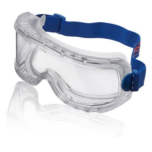 B-Brand Wide Vision Goggles Clear BBWVG [Pack 5] *Up to 3 Day Leadtime*