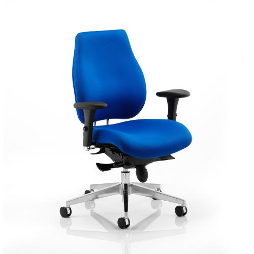 Sonix Chiro Plus High Back Posture Chair Blue 495x520-560x470-540mm Ref PO000003