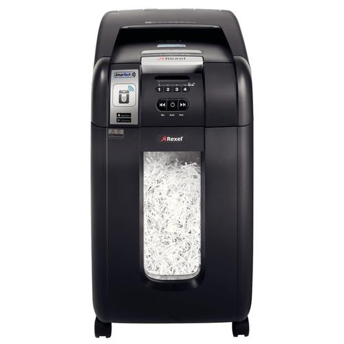 Rexel AutoPlus SmarTech 300X Shredder Cross Cut P-4 Ref 2103250S