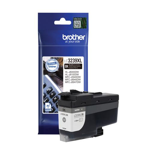 Brother LC3239XLBK Ink Cartridge High Yield Page Life 5000pp Black Ref LC3239XLBK
