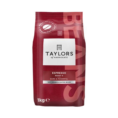 Taylors Espresso Coffee Beans 1kg Ref 0403234