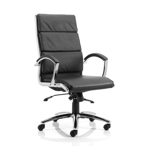 Adroit Classic Executive Chair With Arms High Back Black Ref EX000007
