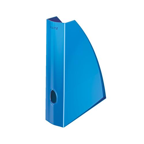 Leitz WOW Magazine File A4 Metallic Blue Ref 52771036