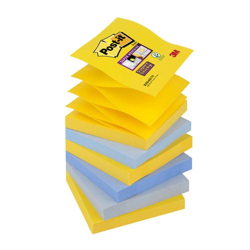 Post-it Super Sticky Z-Notes New York 76x76mm Ref R330-6SS-NY [Pack 6]