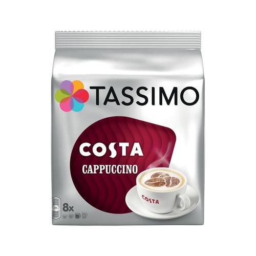 Tassimo Costa Cappuccino Pods 8 Servings Per Pack Ref 40315103 [Pack 5 x 8]