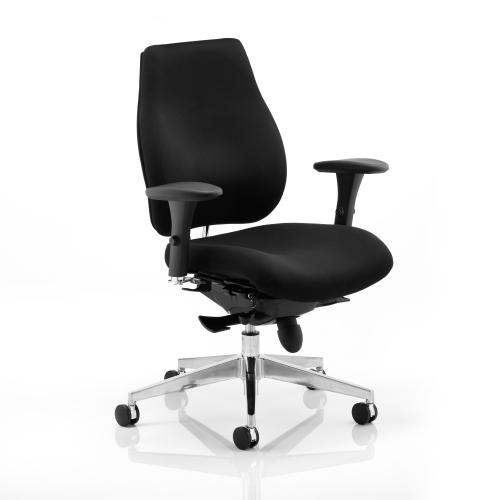 Sonix Chiro Plus High Back Posture Chair Black 495x520-560x470-540mm Ref PO000001