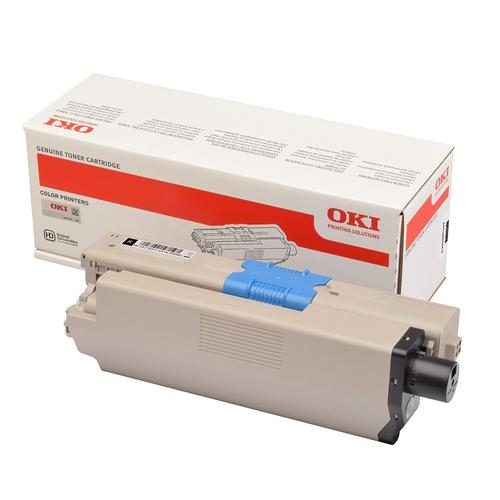 Oki C332/MC363 Laser Toner Cartridge High Yield Page Life 3500pp Black Ref 46508712